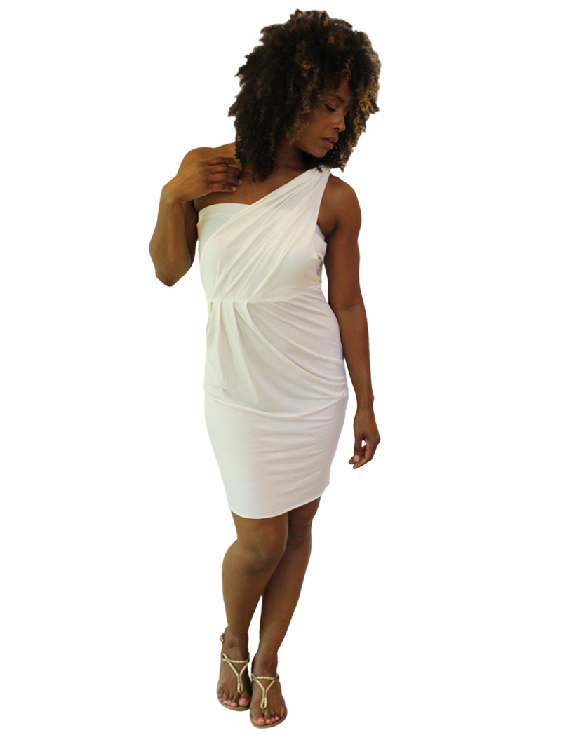 One Shoulder Egypt Dress 1