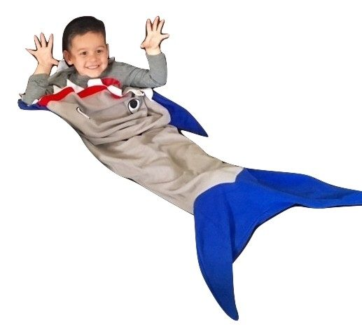 BOY IN SHARK BLANKET_burned